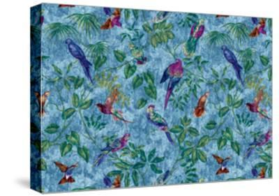 Aviary Blue-Bill Jackson-Stretched Canvas Print