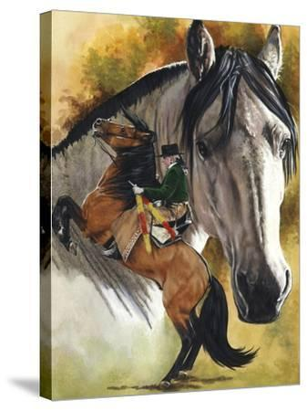 Lusitano-Barbara Keith-Stretched Canvas Print