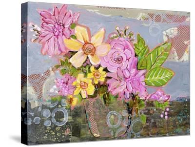 Chloe Rose Flowers-Blenda Tyvoll-Stretched Canvas Print
