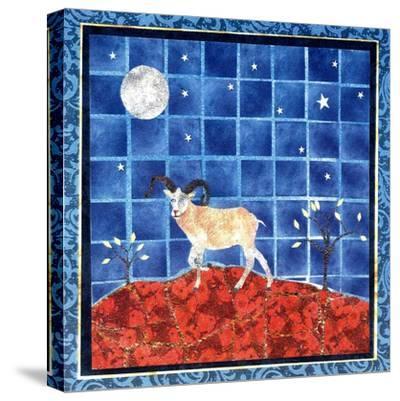 Mountain Goat-David Sheskin-Stretched Canvas Print