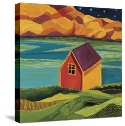 Shed at the Dock-Catherine Breer-Stretched Canvas Print