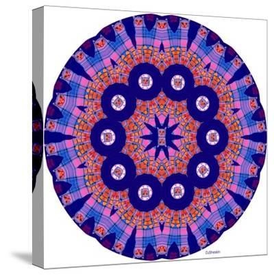 Cat Mandala X-David Sheskin-Stretched Canvas Print