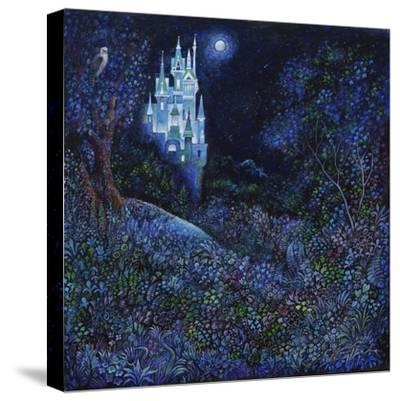 The White Castle-Bill Bell-Stretched Canvas Print
