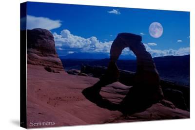 Arches-Gordon Semmens-Stretched Canvas Print