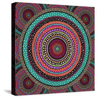 Into the Night-Hello Angel-Stretched Canvas Print