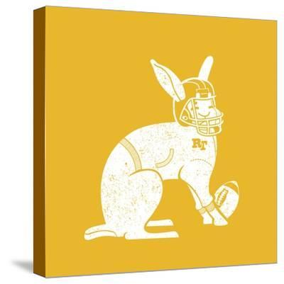 Wabbit Yellow-Jimmy Messer-Stretched Canvas Print