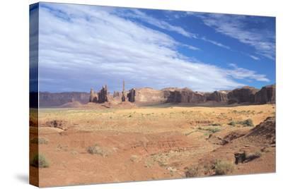 Monument Valley 10-Gordon Semmens-Stretched Canvas Print
