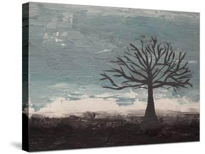 Abstract Tree II-Hilary Winfield-Stretched Canvas Print