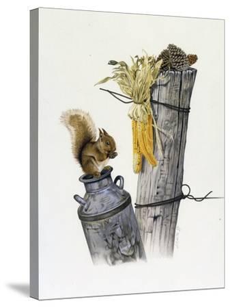 Feeding Time-Joh Naito-Stretched Canvas Print