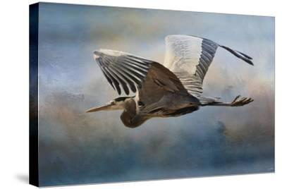 Over Ocean Skies-Jai Johnson-Stretched Canvas Print