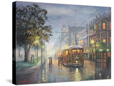 Home on the Rattler-John Bradley-Stretched Canvas Print