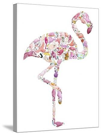 Flamingo-Louise Tate-Stretched Canvas Print