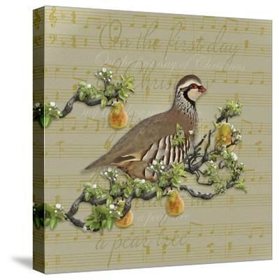 Partridge in a Pear Tree-Leslie Wing-Stretched Canvas Print