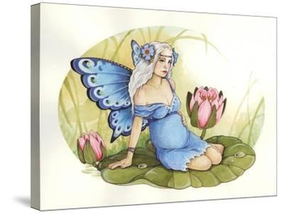 Rose-Linda Ravenscroft-Stretched Canvas Print