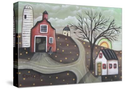 Barn Silo-Karla Gerard-Stretched Canvas Print