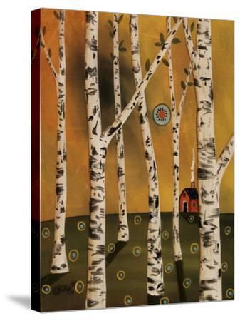 Birch Grove 1-Karla Gerard-Stretched Canvas Print
