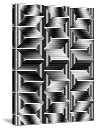 Optic Pattern-Josefina Baumann-Stretched Canvas Print