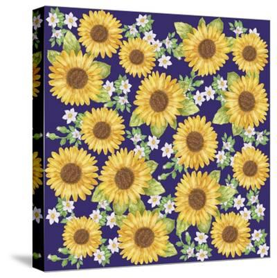 Sunflower-Maria Trad-Stretched Canvas Print