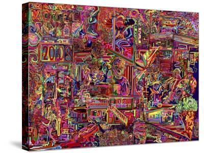 Millions Served-Josh Byer-Stretched Canvas Print