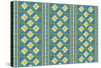 Diamond Pattern-Maria Trad-Stretched Canvas Print