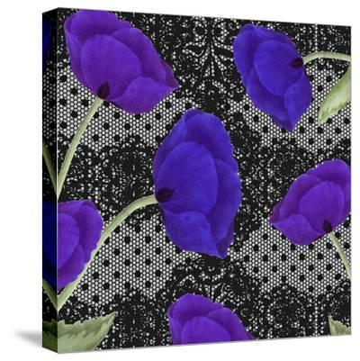 Living Lace I-Mindy Sommers-Stretched Canvas Print