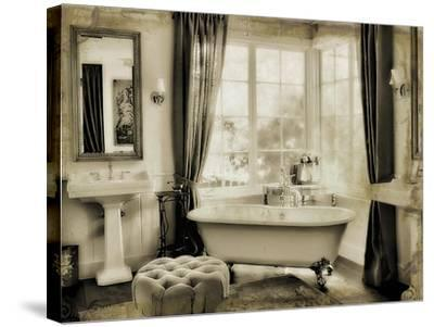 Powder Room-Mindy Sommers-Stretched Canvas Print