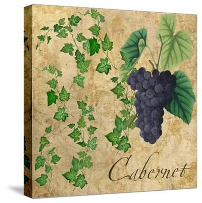 Cabernet-Mindy Sommers-Stretched Canvas Print