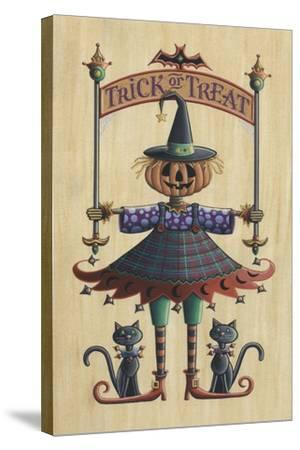 The Pumpkin Queen-Michele Meissner-Stretched Canvas Print