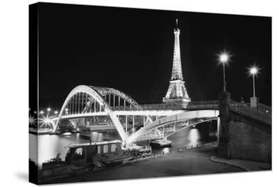 Gate and Tower-Moises Levy-Stretched Canvas Print