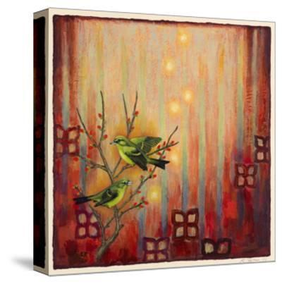 Sunset Birds-Rachel Paxton-Stretched Canvas Print