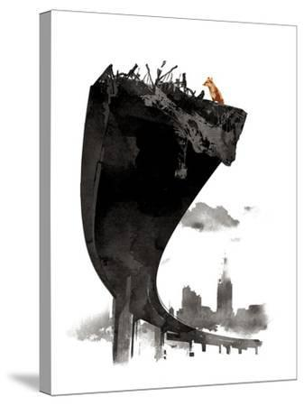 The Last of Us-Robert Farkas-Stretched Canvas Print
