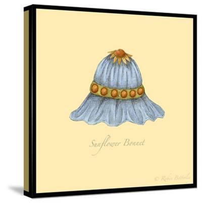 Sunflower Bonnet-Robin Betterley-Stretched Canvas Print