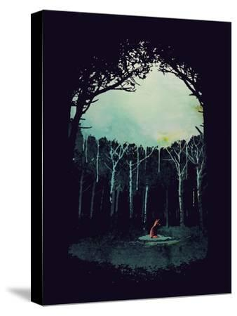 Deep in the Forest-Robert Farkas-Stretched Canvas Print