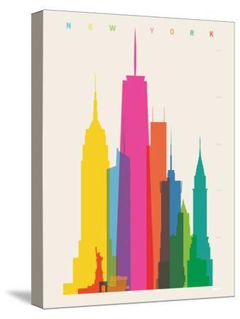 NYC-Yoni Alter-Stretched Canvas Print
