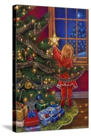 A Merry Little Christmas-Tricia Reilly-Matthews-Stretched Canvas Print