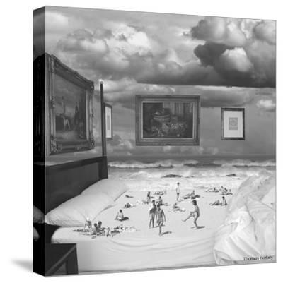 Wet Dreams-Thomas Barbey-Stretched Canvas Print