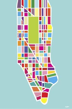 Manhattan Island-Yoni Alter-Stretched Canvas Print