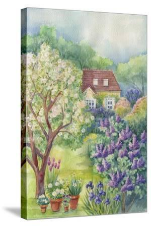 A Lilac Garden-ZPR Int'L-Stretched Canvas Print