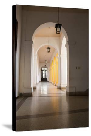 Caribbean, Cuba, Trinidad. Convento de San Francisco de Asi-Emily Wilson-Stretched Canvas Print