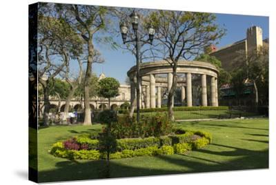 Rotunda of Illustrious People of Jalisco, Guadalajara, Jalisco, Mexico-Douglas Peebles-Stretched Canvas Print