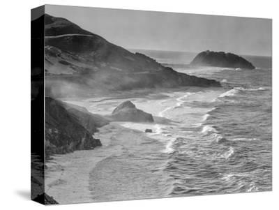 USA, California, Little Sur-John Ford-Stretched Canvas Print