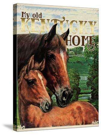Kentucky Home--Stretched Canvas Print