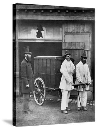 Public Disinfectors, from 'Street Life in London', 1877-John Thomson-Stretched Canvas Print