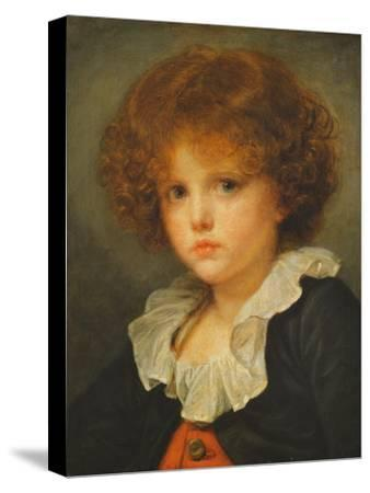 Boy in a Red Waistcoat, c.1775-80-Jean Baptiste Greuze-Stretched Canvas Print