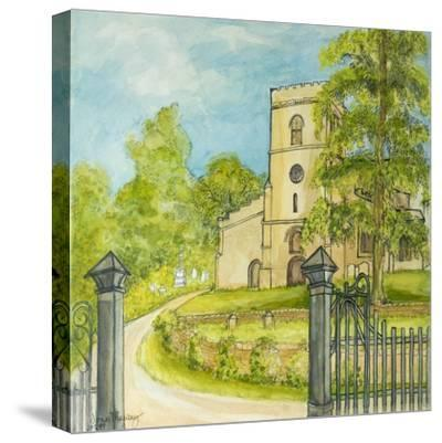Moulton Curch, 2010-Joan Thewsey-Stretched Canvas Print