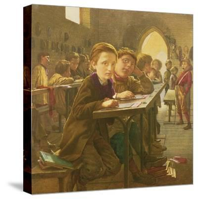 In the Classroom-J^ Harris-Stretched Canvas Print