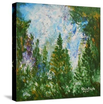Winter Afternoon, 2015-Patricia Brintle-Stretched Canvas Print