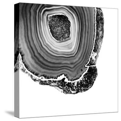 Grey Agate D-THE Studio-Stretched Canvas Print