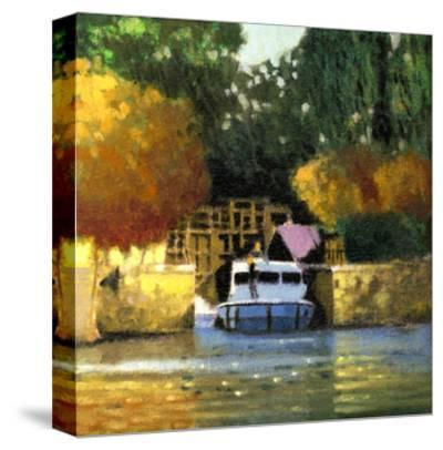 Le Canal-Max Hayslette-Stretched Canvas Print