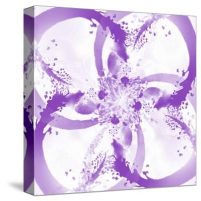 Splash Rings 2 - Recolor-Travis Winn-Stretched Canvas Print